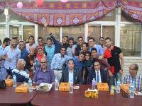 breakfast ceremony in Ramadan for faculty students
